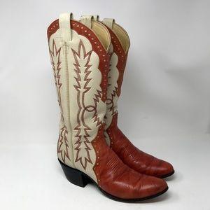 Laramie Hand Made Western Cowboy Boots 8 1/2